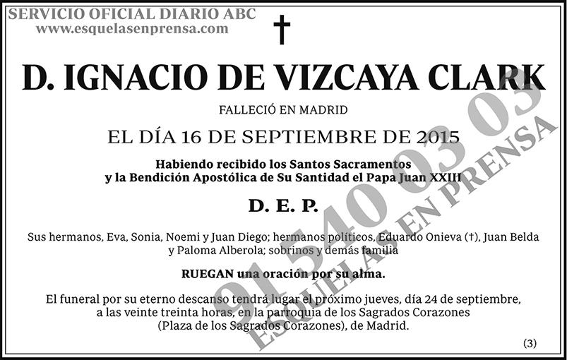 Ignacio de Vizcaya Clark